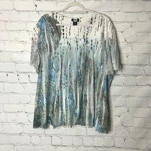 Studio 1940 Plus Size 30/32 Lace Blouse